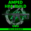 Amped Custom HPA Rifle - G&G Combat Machine CM16 SR-S cover