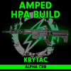 Amped Custom HPA Rifle - Krytac ALPHA CRB (Black) cover