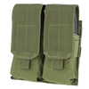 Condor - Closed Top Double M4 Mag Pouch (Olive Drab)
