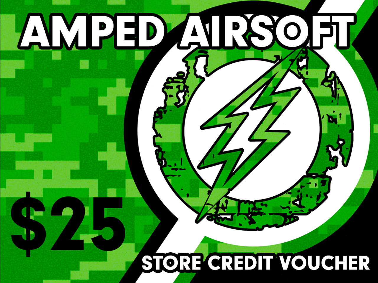 Amped Airsoft Gift Card! | $25.00