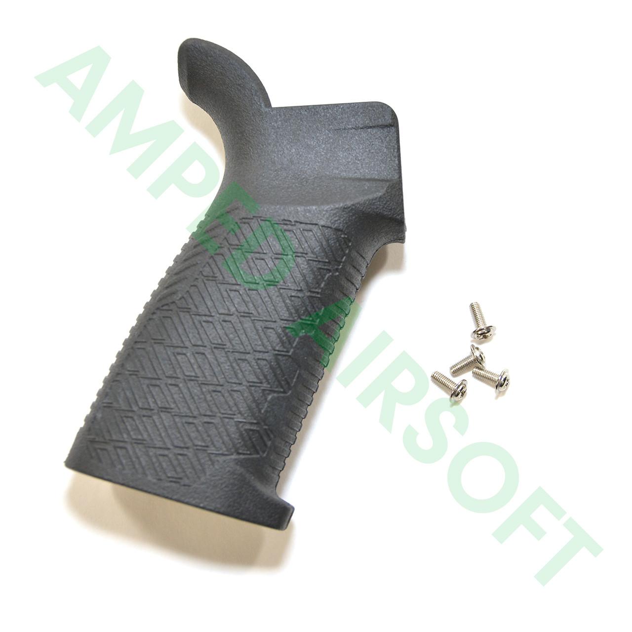 Madbull - Strike Industries M4 Enhanced Pistol Grip (AEG/Black) Right Side with Screws