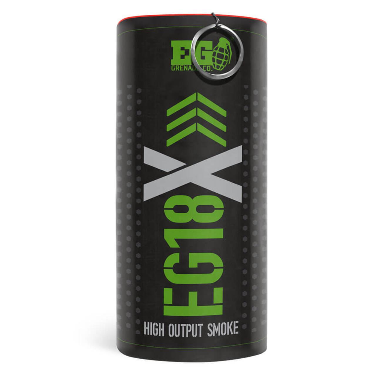 Enola Gaye EG18X Green Military Smoke Grenade