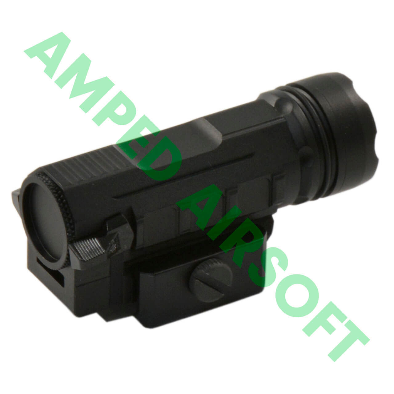 Leapers - UTG 400 Lumen Sub-Compact LED Ambi Pistol Light (Black) Rear Side View