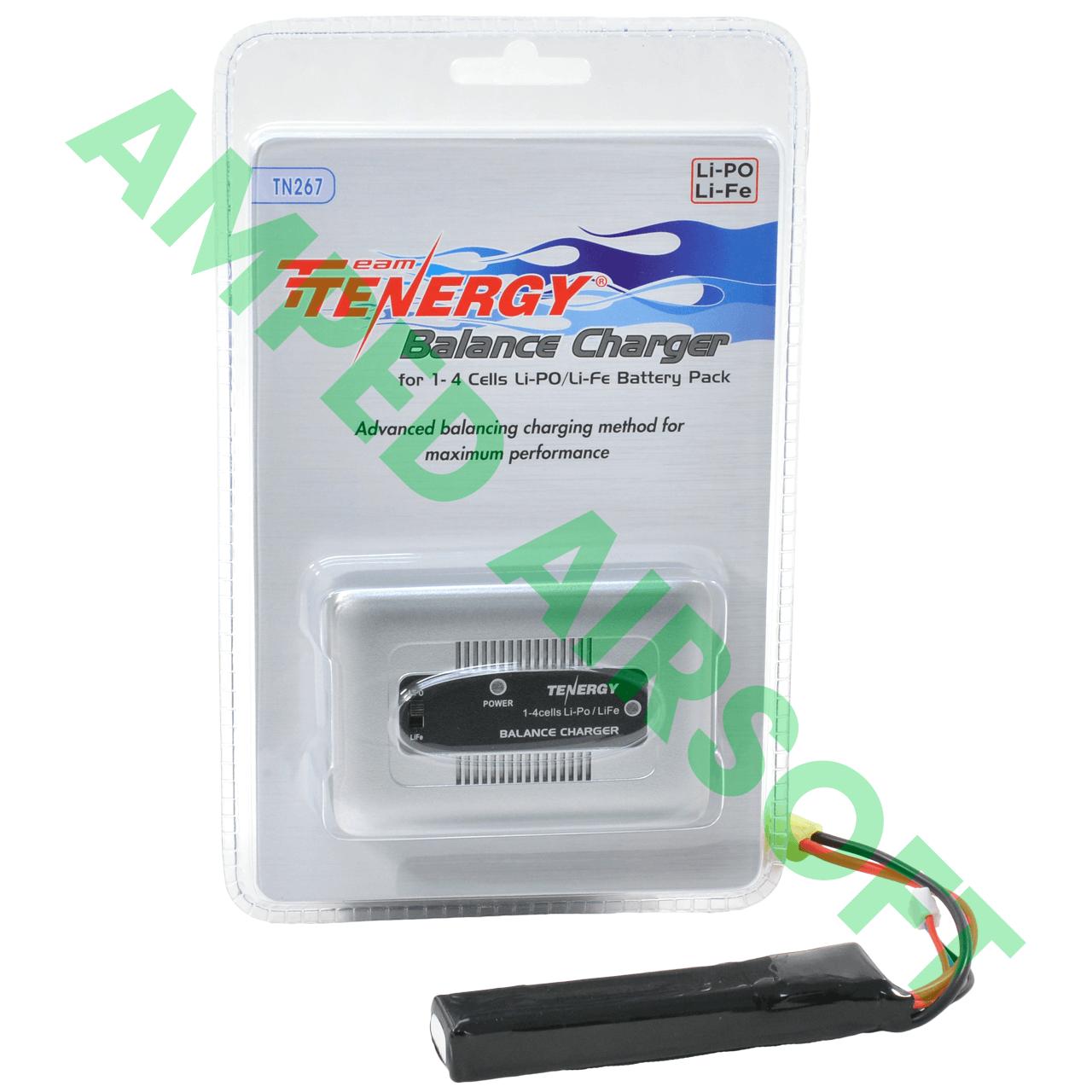 Amped Bundle - 7.4v Lipo Battery Standard Charger Bundle