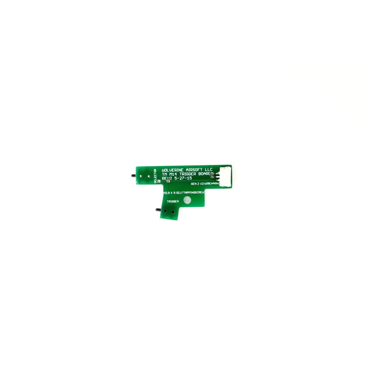 Wolverine Airsoft - Custom TM M14 Trigger Board for HYDRA Unit