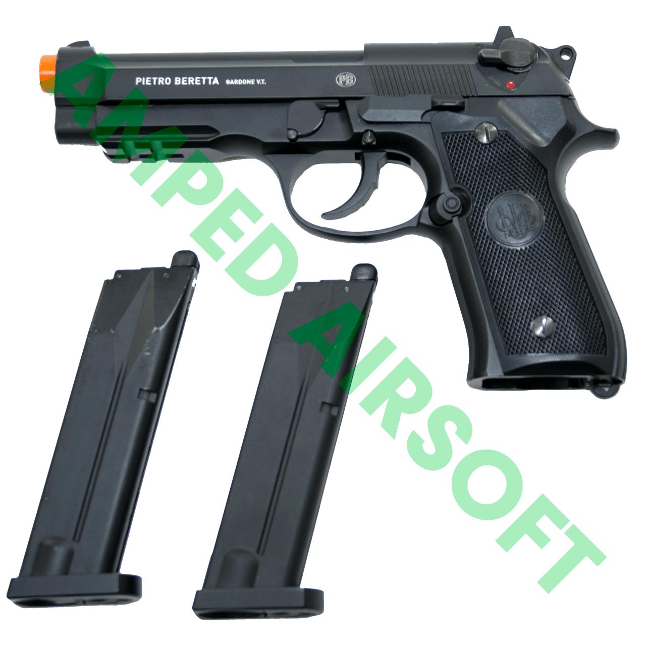 Amped Bundle - Elite Force Beretta M92 A1 CO2 Blowback Magazine Bundle