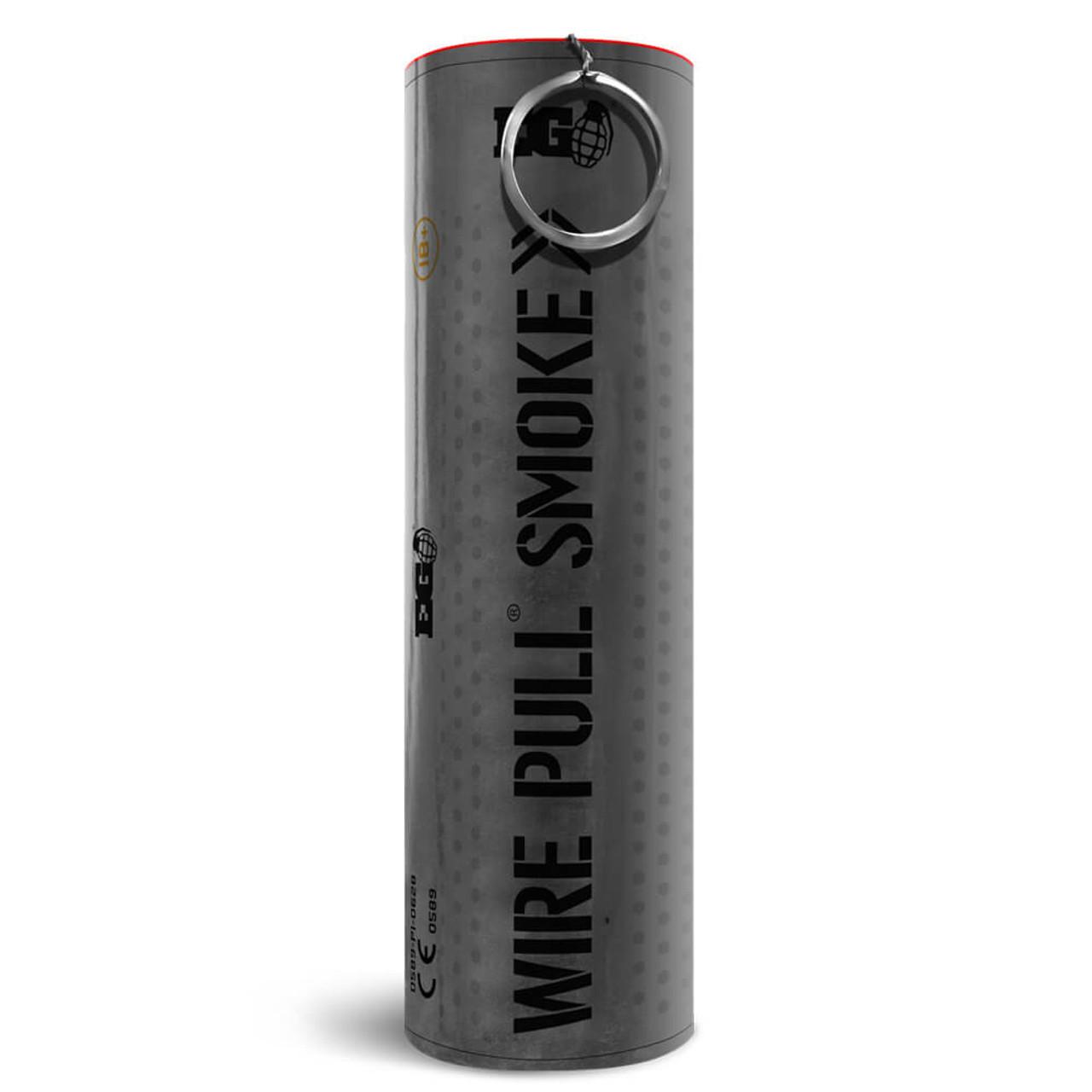 Enola Gaye Wire Pull Smoke Grenade | Black