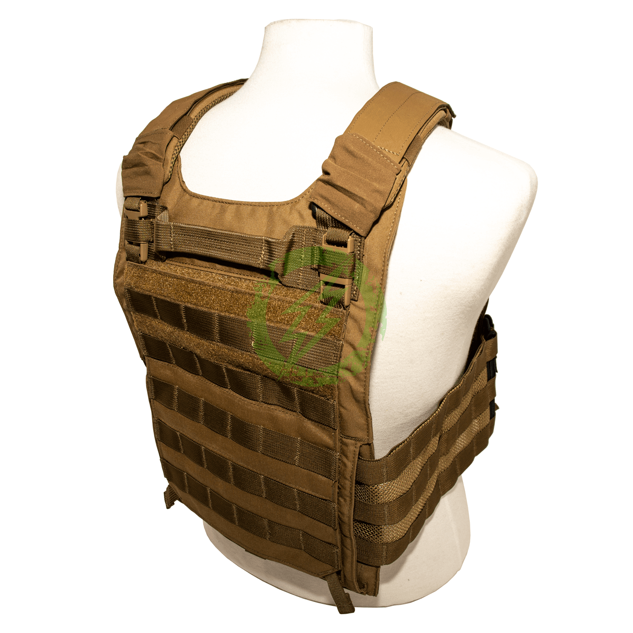 LBX Tactical | Armatus II Plate Carrier Coyote Brown | Large back