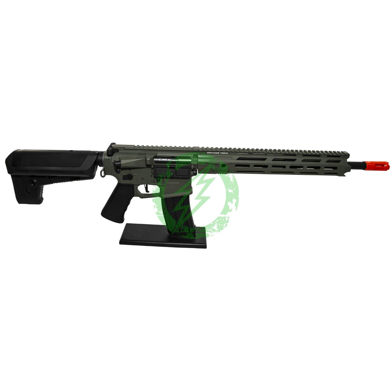 Krytac Full Metal Trident MKII-M SPR Rifle   Foliage Green   MLOK Right Side