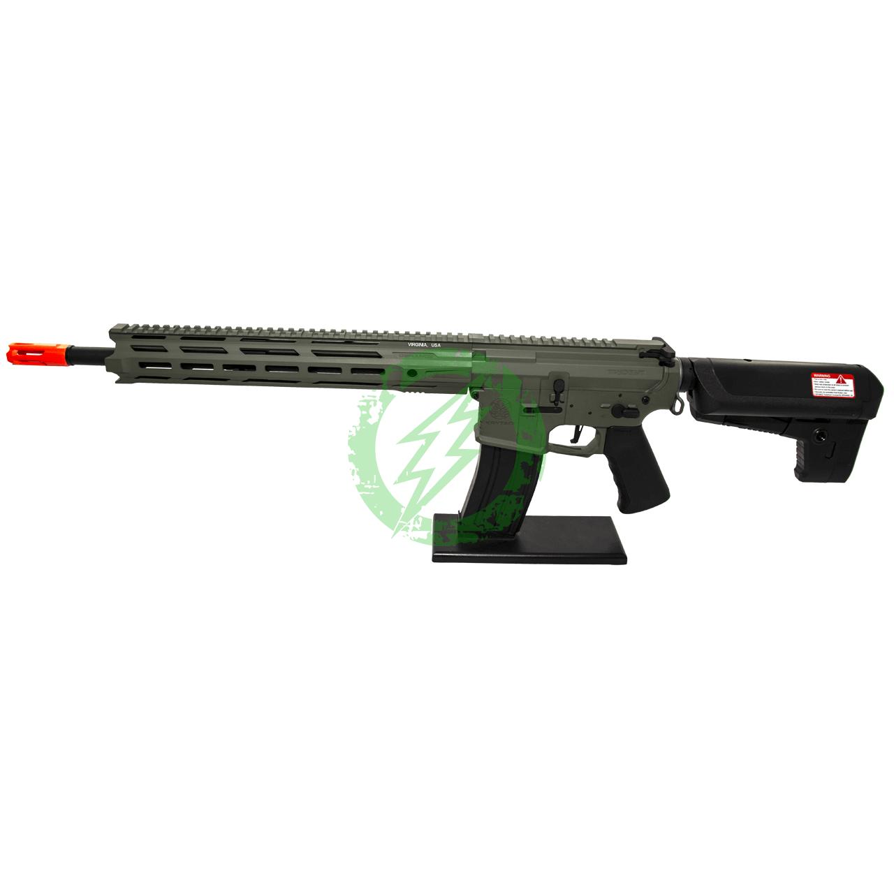 Krytac Full Metal Trident MKII-M SPR Rifle   Foliage Green   MLOK Left Side