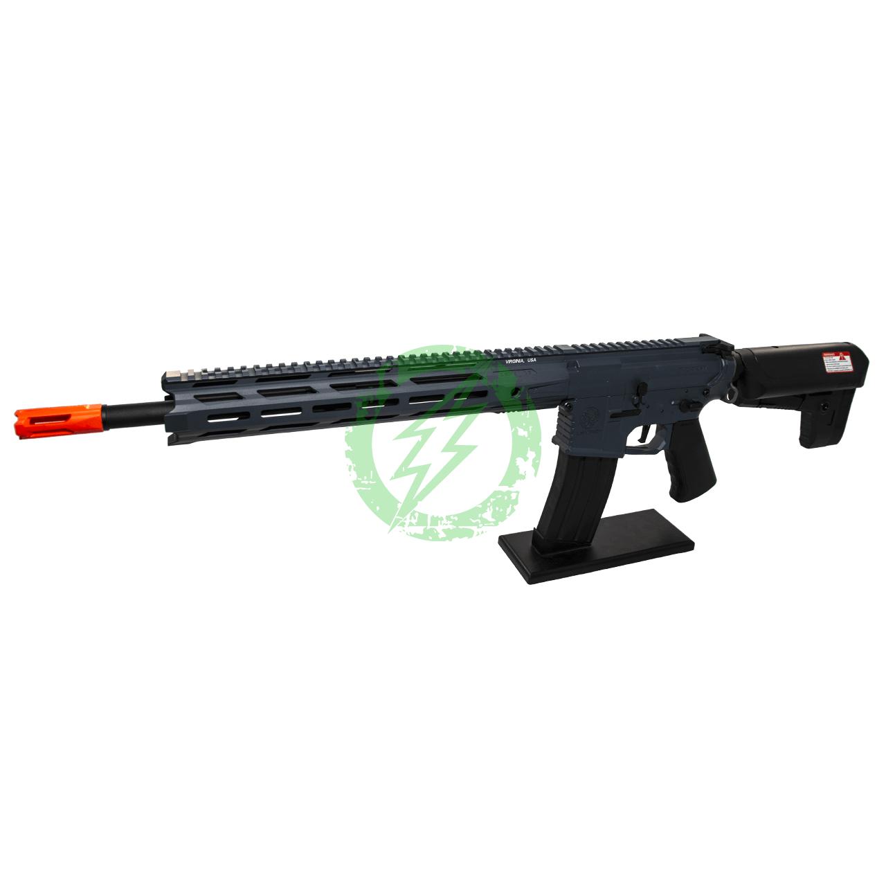 Krytac Full Metal Trident MKII-M SPR Rifle   Combat Grey   MLOK Left Profile