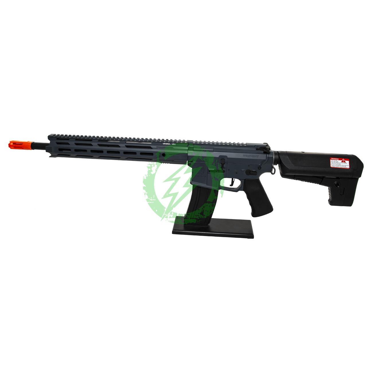 Krytac Full Metal Trident MKII-M SPR Rifle   Combat Grey   MLOK Left Side