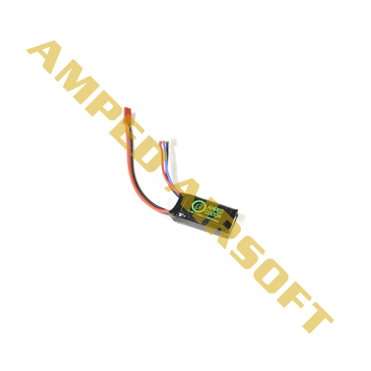 Amped Custom 7.4v 250mah Battery
