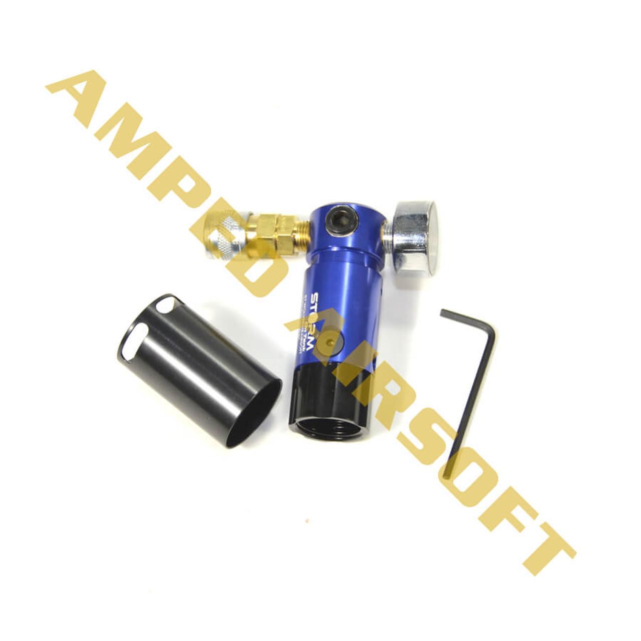 Wolverine Airsoft STORM ONTANK Regulator (Blue)