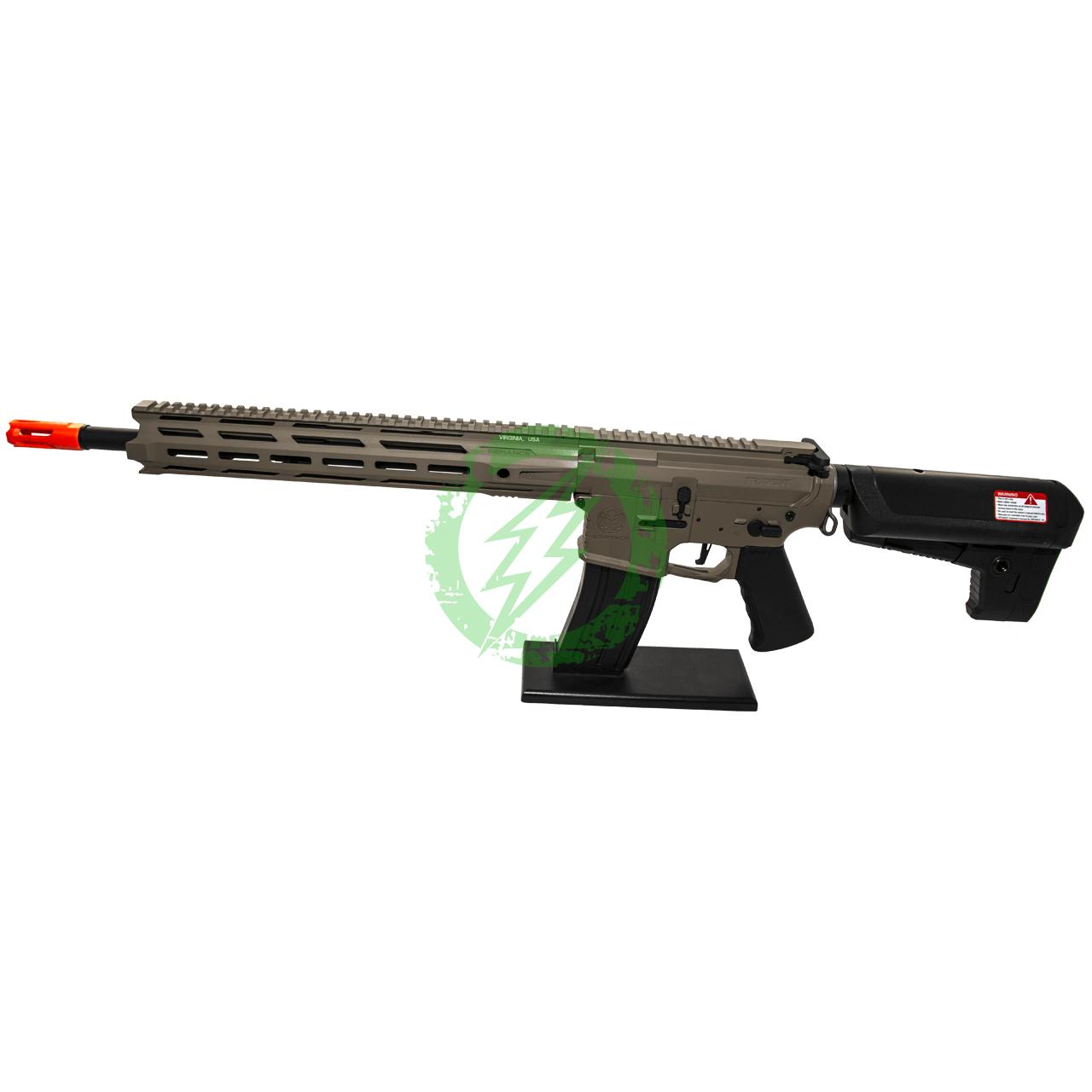 Amped Custom HPA Rifle Krytac MKII-M SPR | Flat Dark Earth Left Side