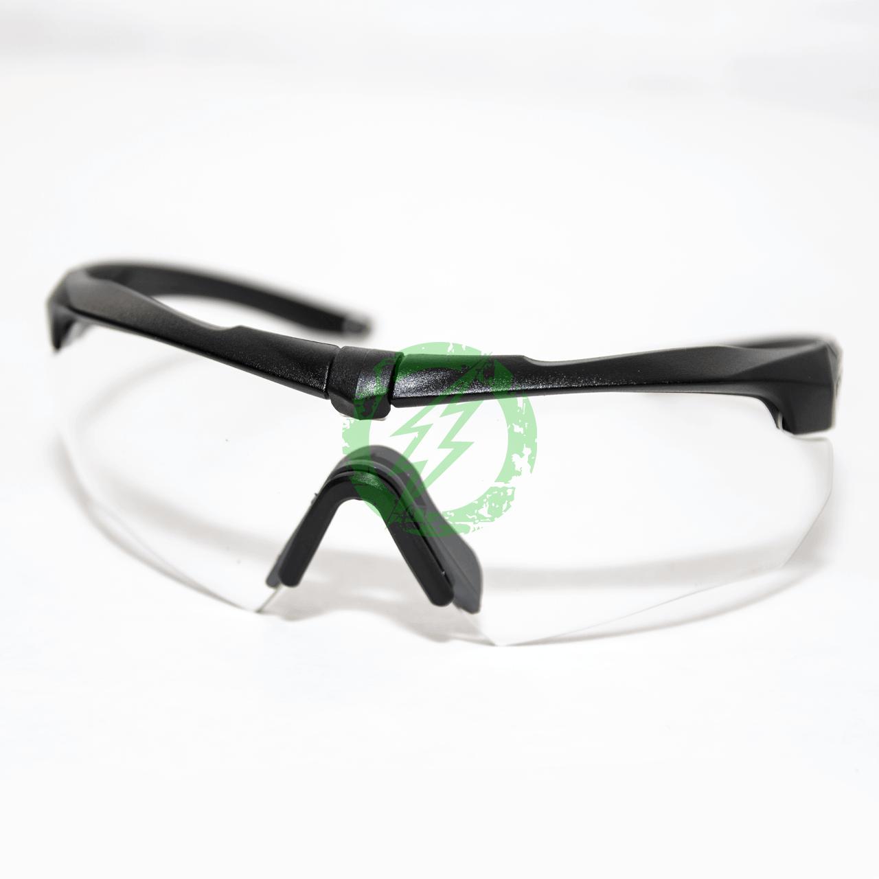 ESS Eyewear 740-0615 Crossbow One Sunglasses Clear Lens//Black Frame