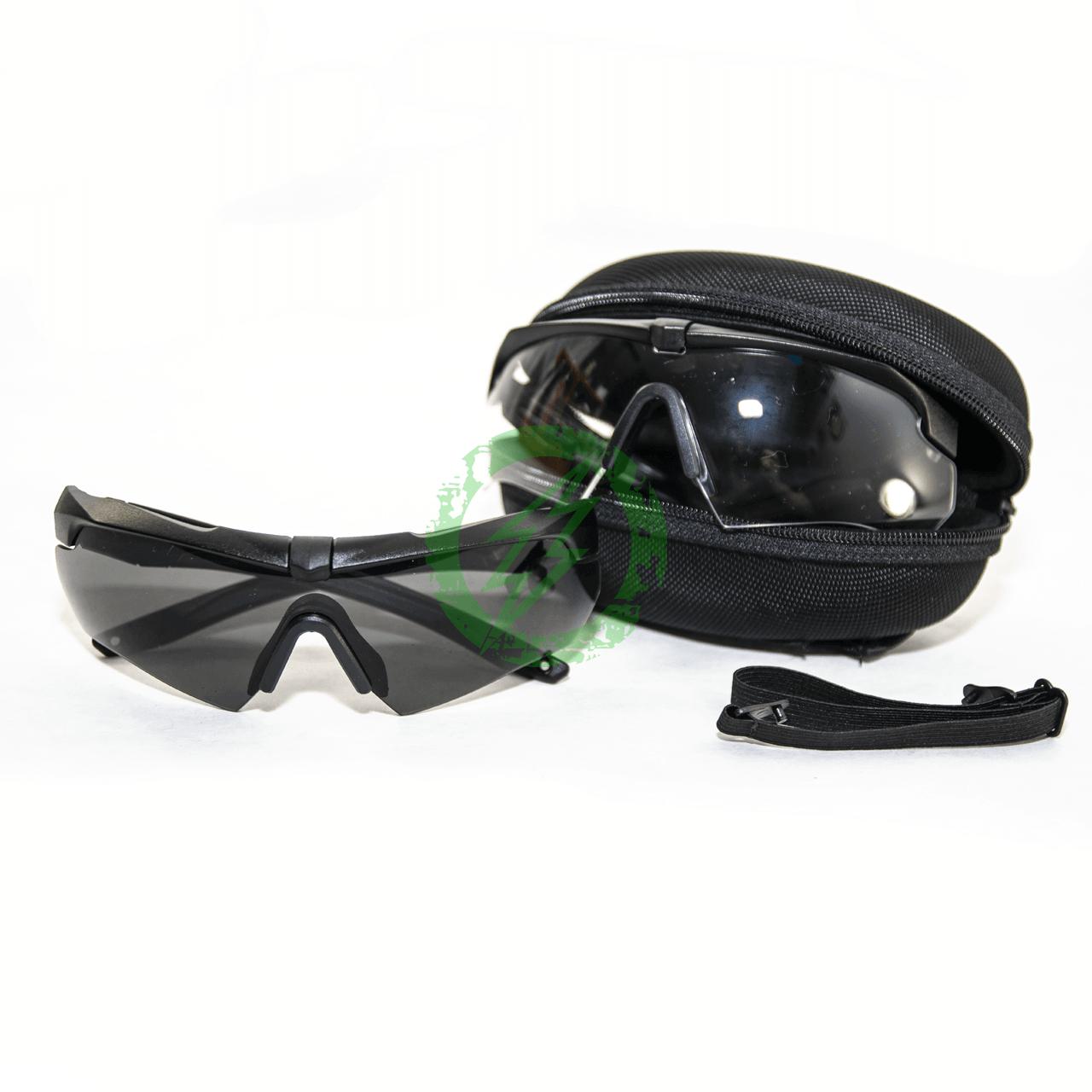 ESS Crossbow 2X Kit Black   Clear & Smoke