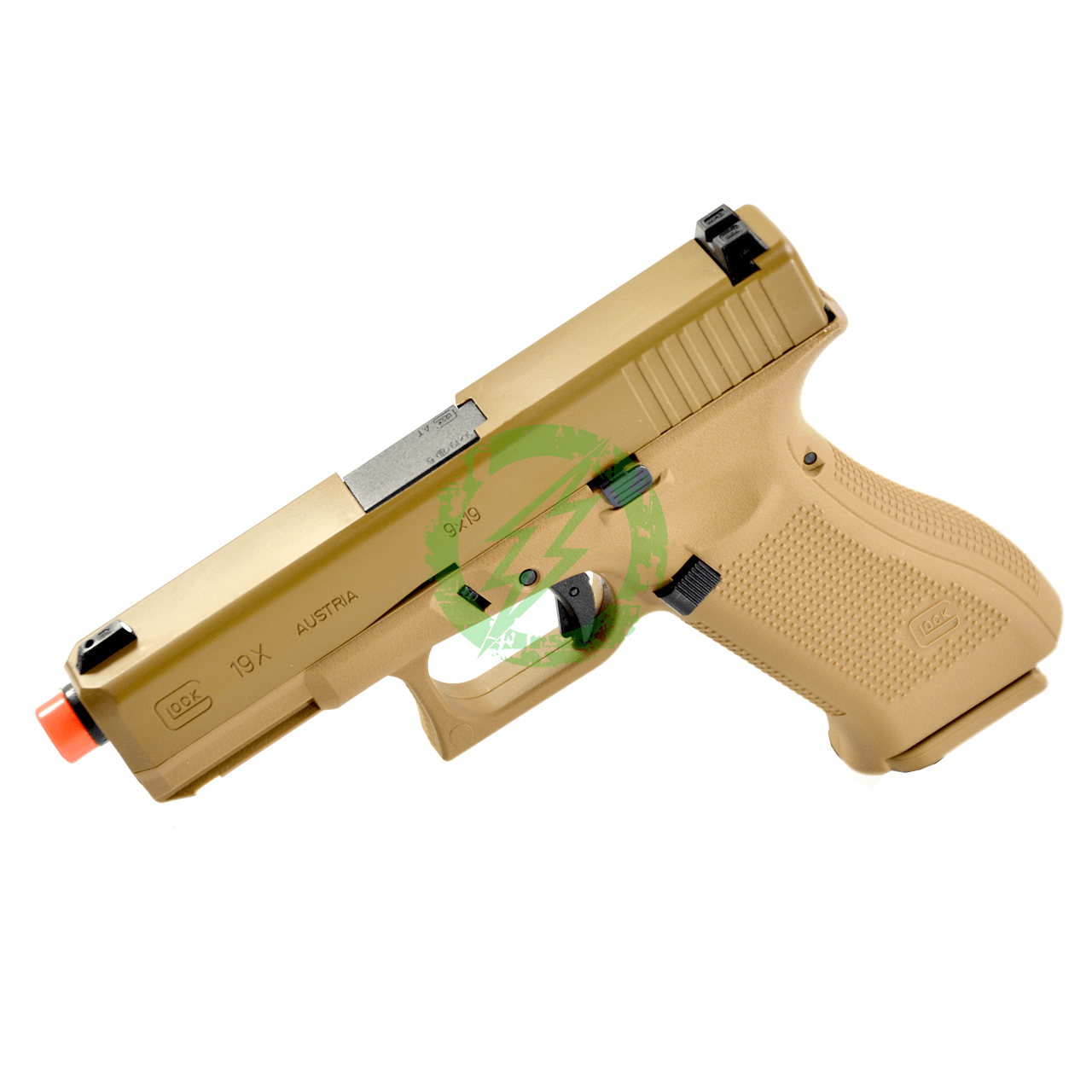 Elite Force GLOCK 19X Airsoft Gas Blowback Airsoft Pistol