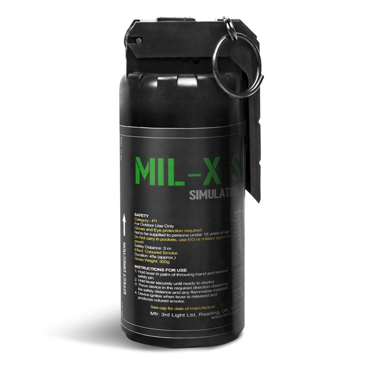 Enola Gaye - MIL-X Smoke Grenade   Green