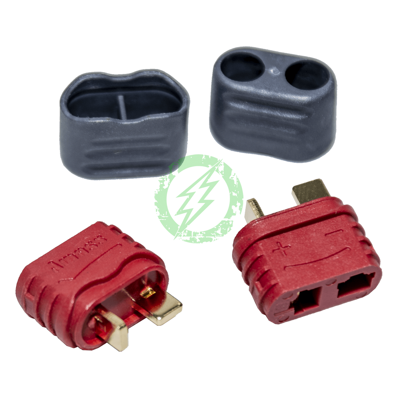 Amped Custom - Set of 2 Female Deans Connectors