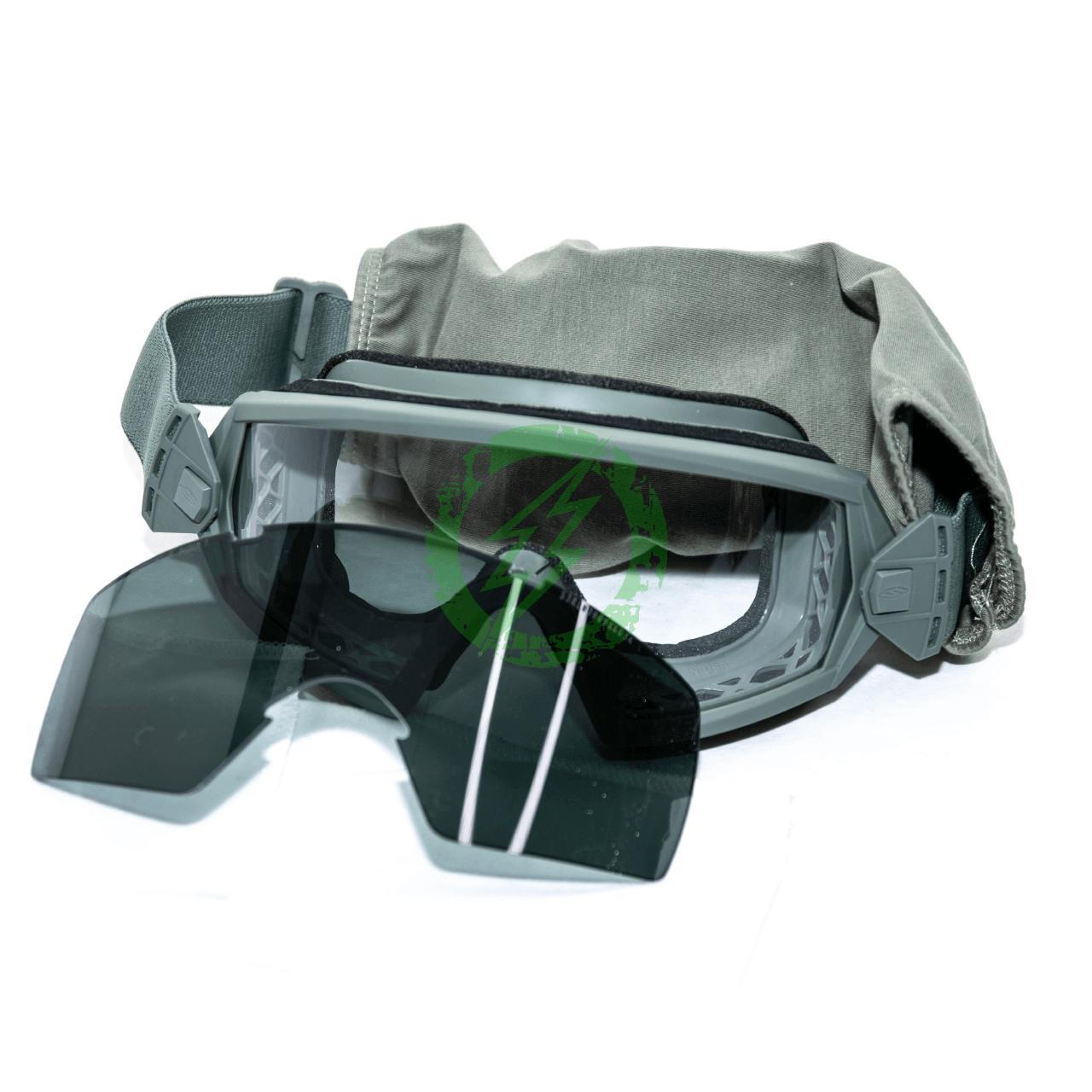 Smith Optics Elite OTW Goggles Field Kit Foliage Frame | Clear & Gray Lens