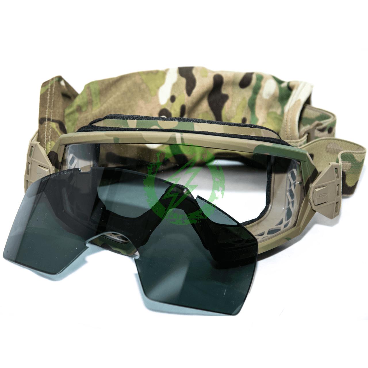 Smith Optics Elite OTW Goggles Field Kit Multicam Frame | Clear & Gray Lens
