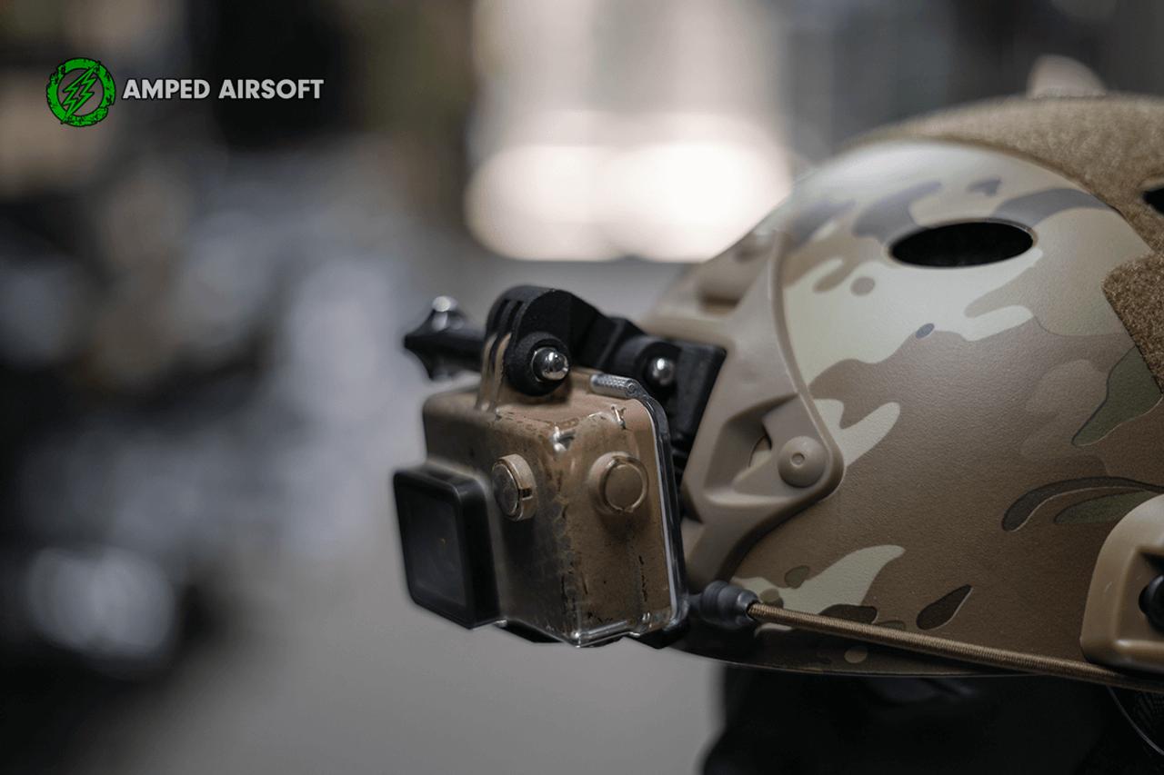 Brain Exploder Adjustable GoPro 3D Printed NVG Mount