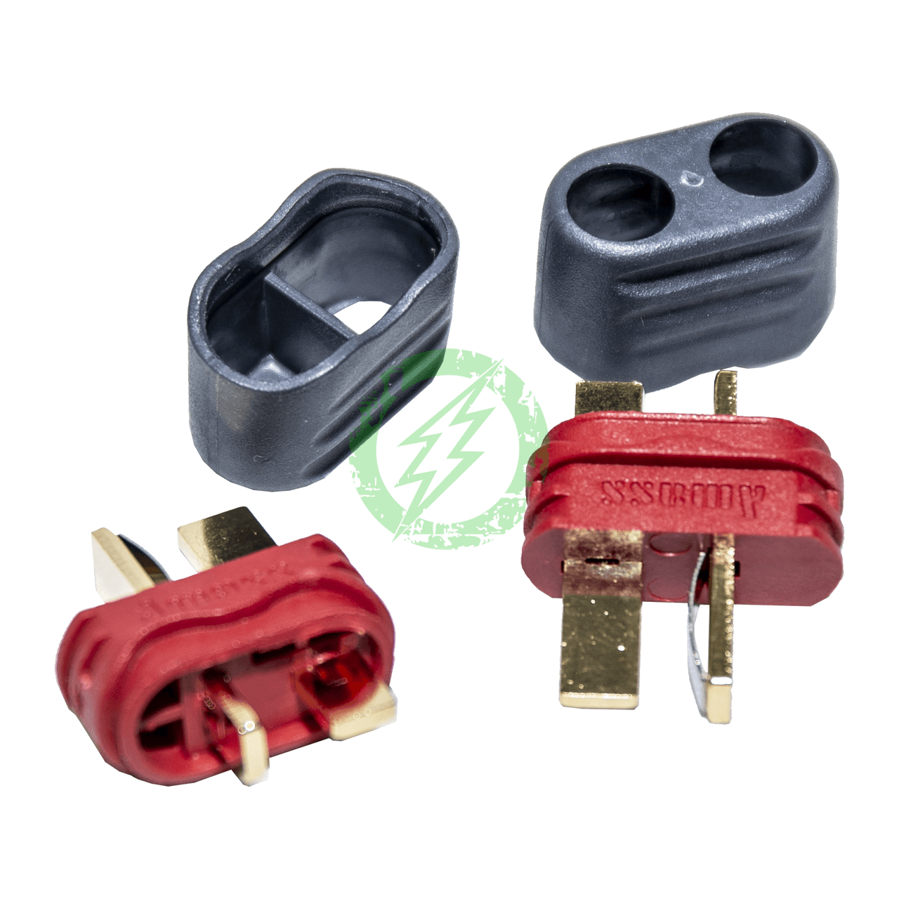 Amped Custom - Set of 2 Male Deans Connectors