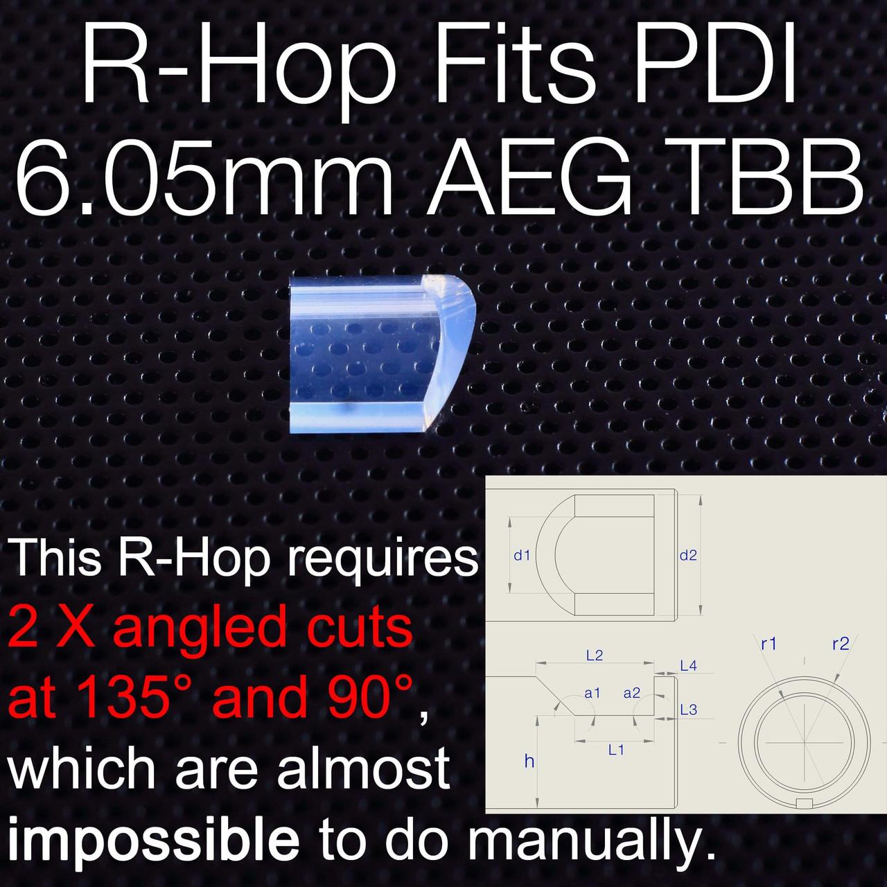 Elvish Tac R-Hop Patch Laser Cut R-Hop Barrel Patches