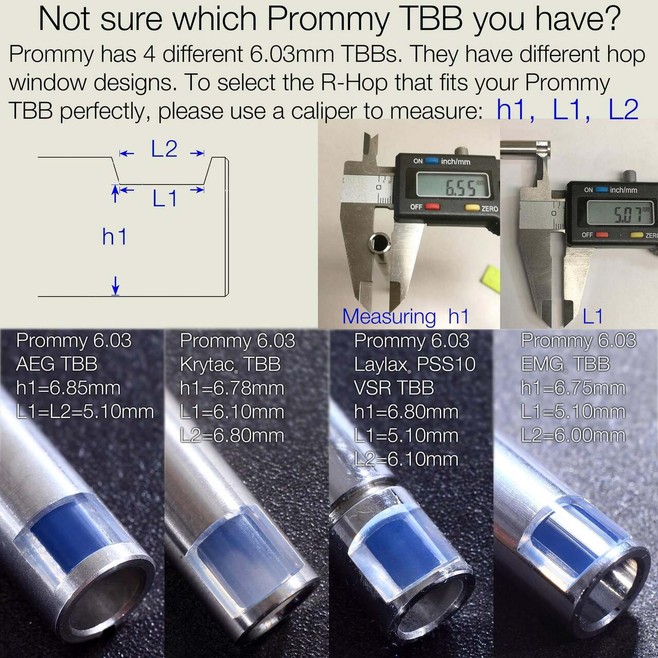 All the types of Prometheus Barrels