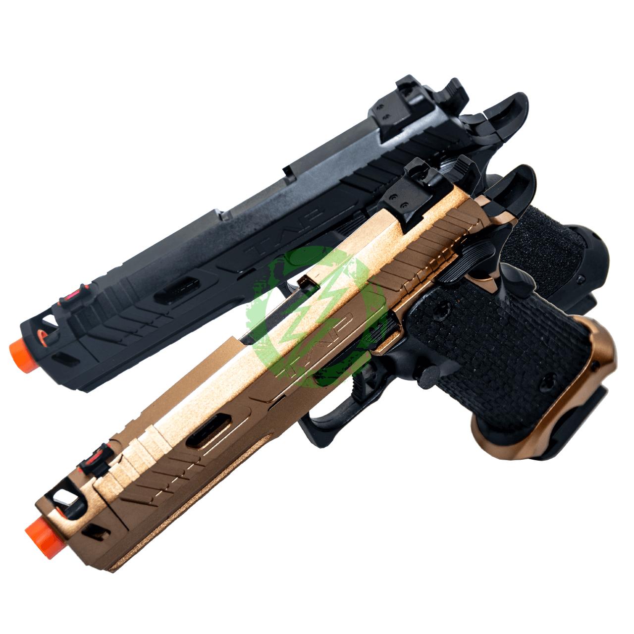 ECHO 1 TAP Gas Blow Back Pistol | Bronze & Black