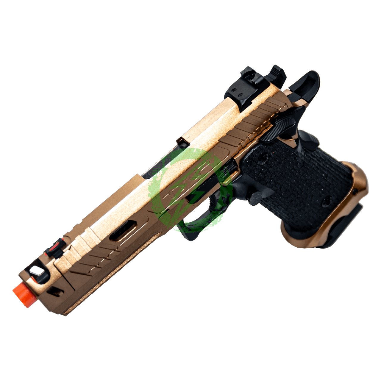ECHO 1 TAP Gas Blow Back Pistol | Bronze left