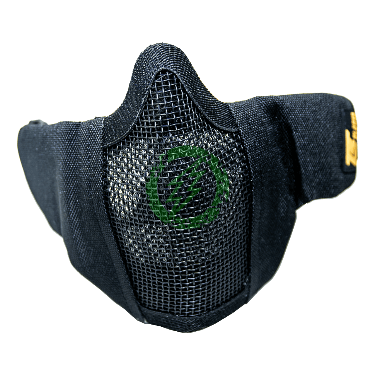 TS Blades Mesh Padded Lower Half Face Mask with Filter Storage black