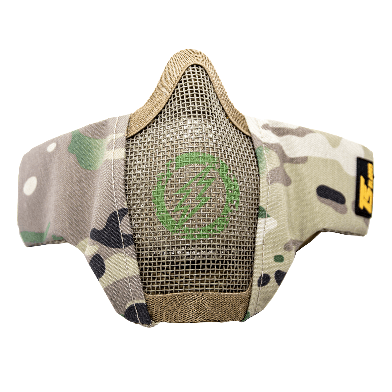 TS Blades Mesh Padded Lower Half Face Mask with Filter Storage multicam