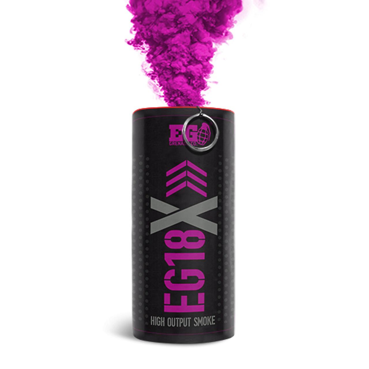 Pyro Shipped Easy Enola Gaye EG18X Military Smoke Grenade pink