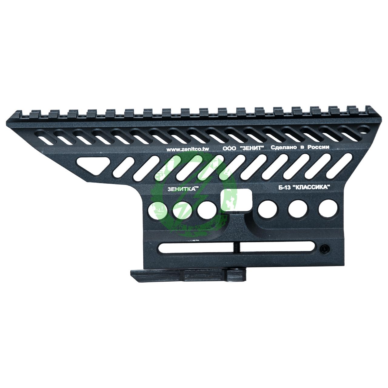 LCT Z-Series B-13 AK Slide Mount Rail | Black