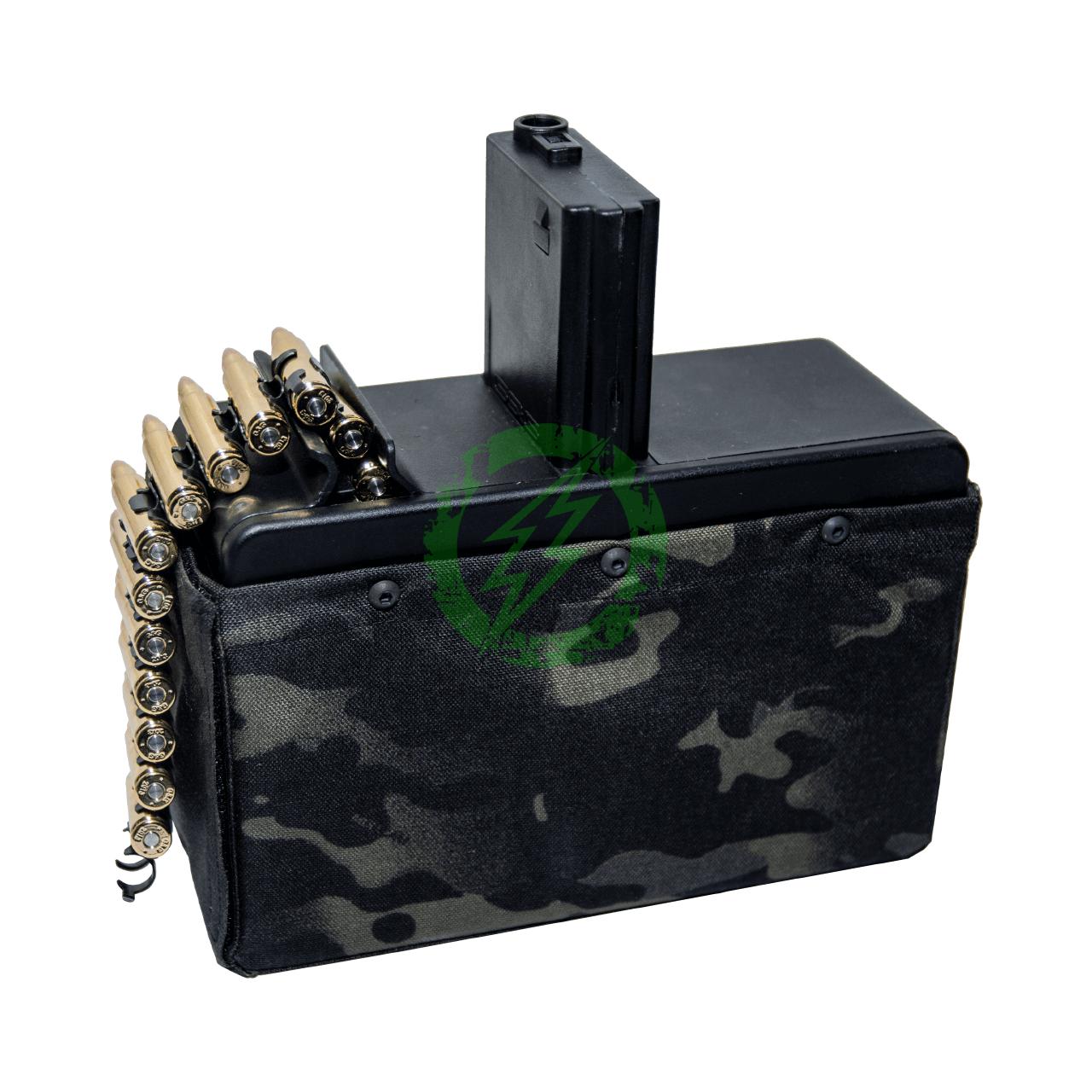 G&G Combat Machine CM16 LMG Stealth mag