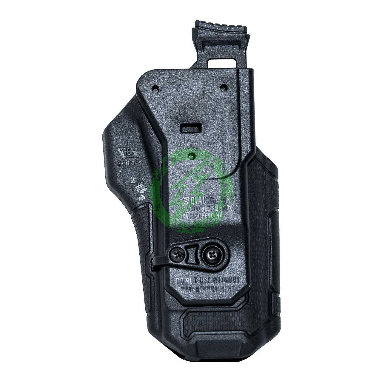 BlackHawk Omnivore Holster for Non-Light Pistols | Black | Left Handed back