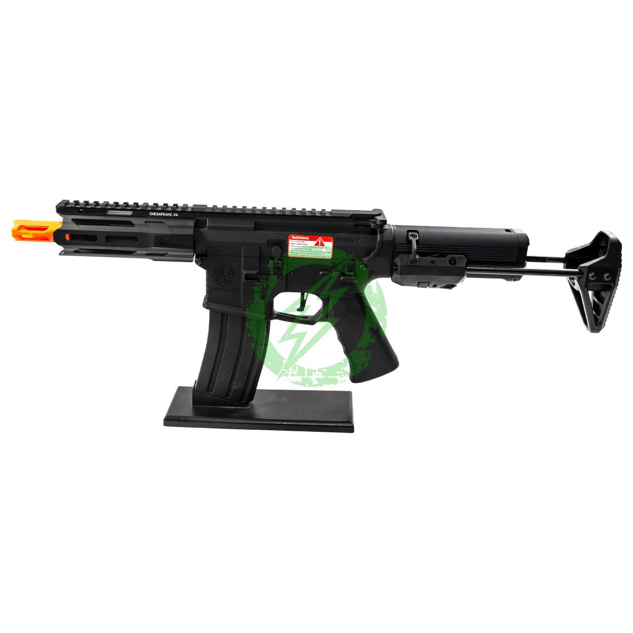 Krytac Trident MKII M PDW   AEG Black 6mm left