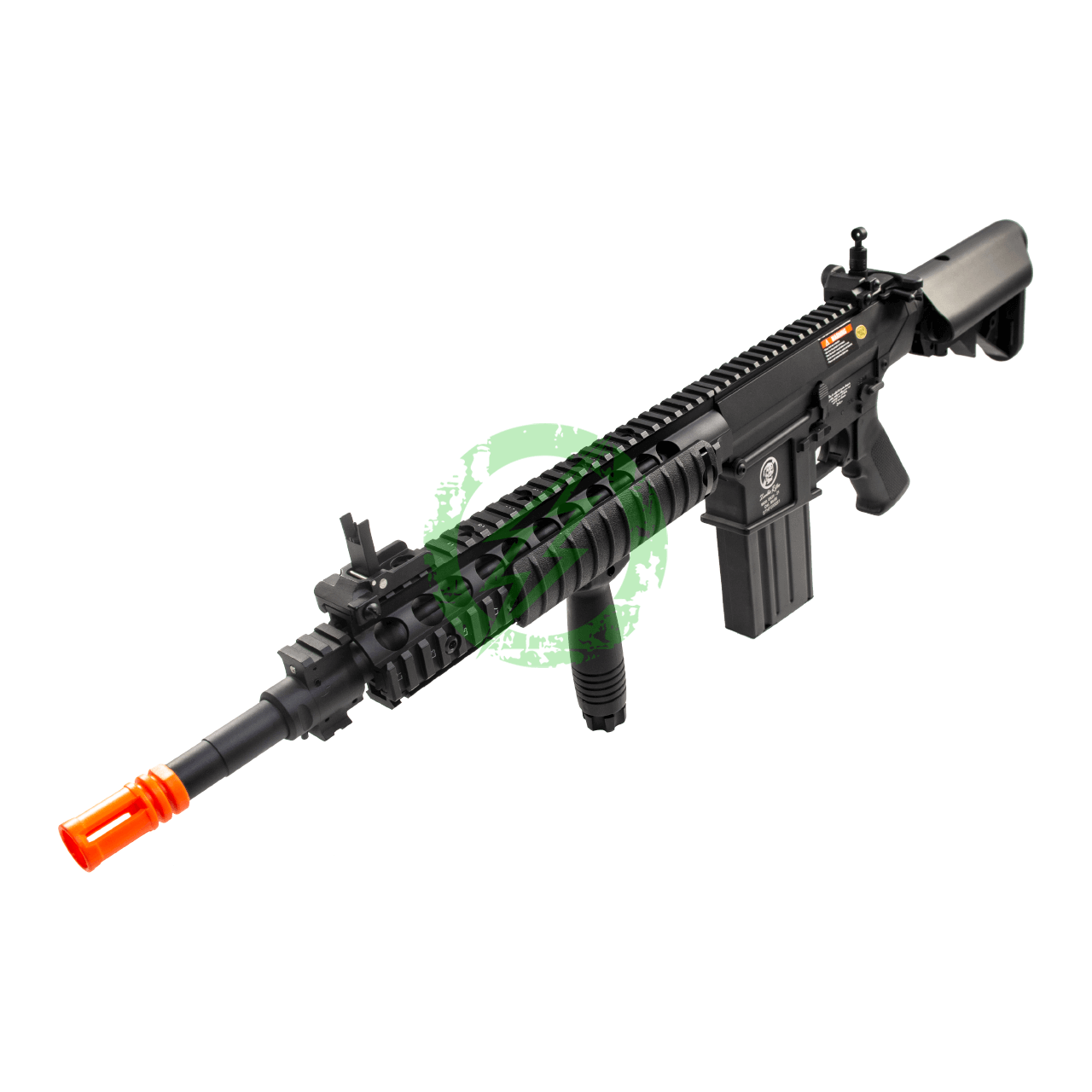 A&K Full Metal SR-25 Airsoft AEG Rifle | Zombie Killer Edition