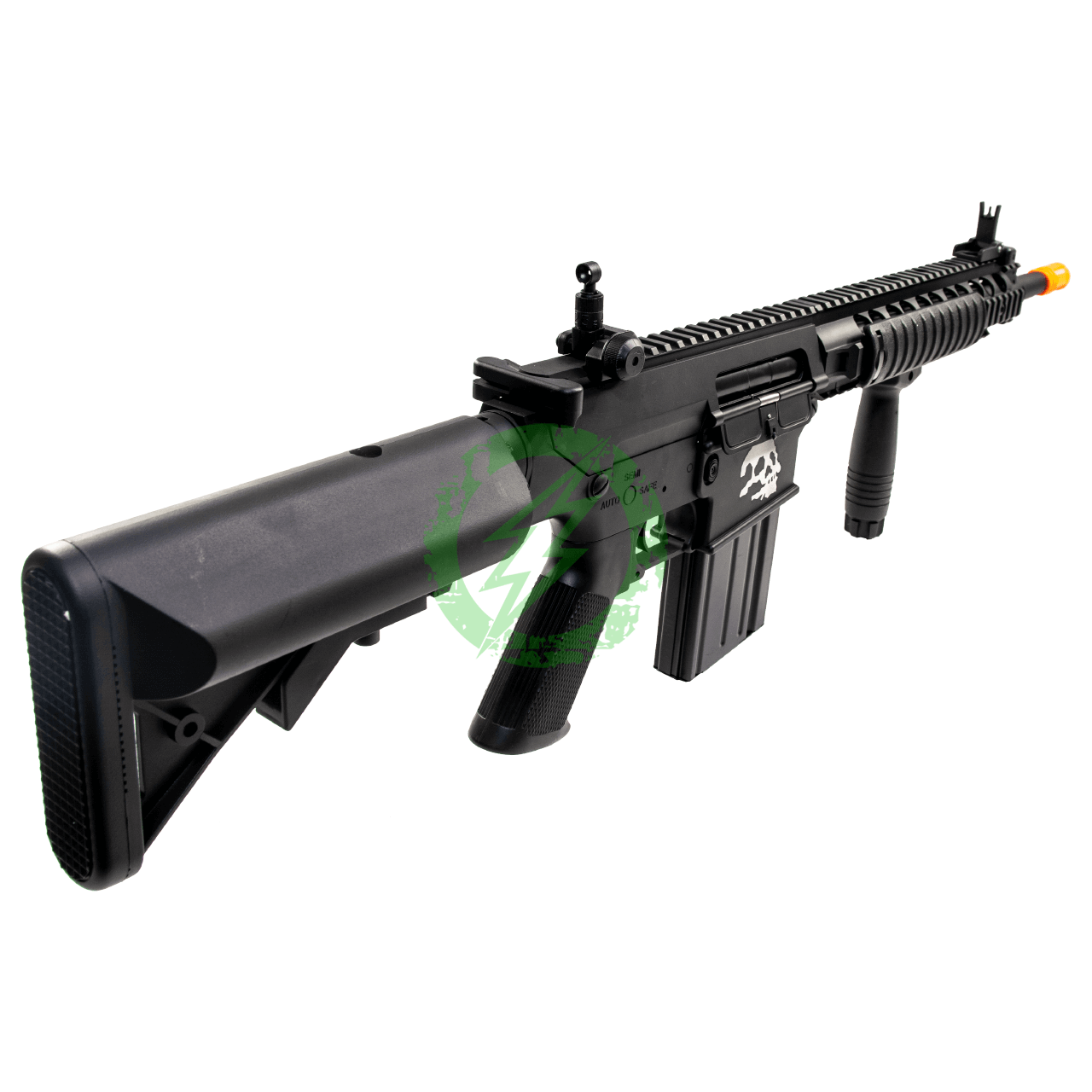 A&K Full Metal SR-25 Airsoft AEG Rifle | Zombie Killer Edition stock