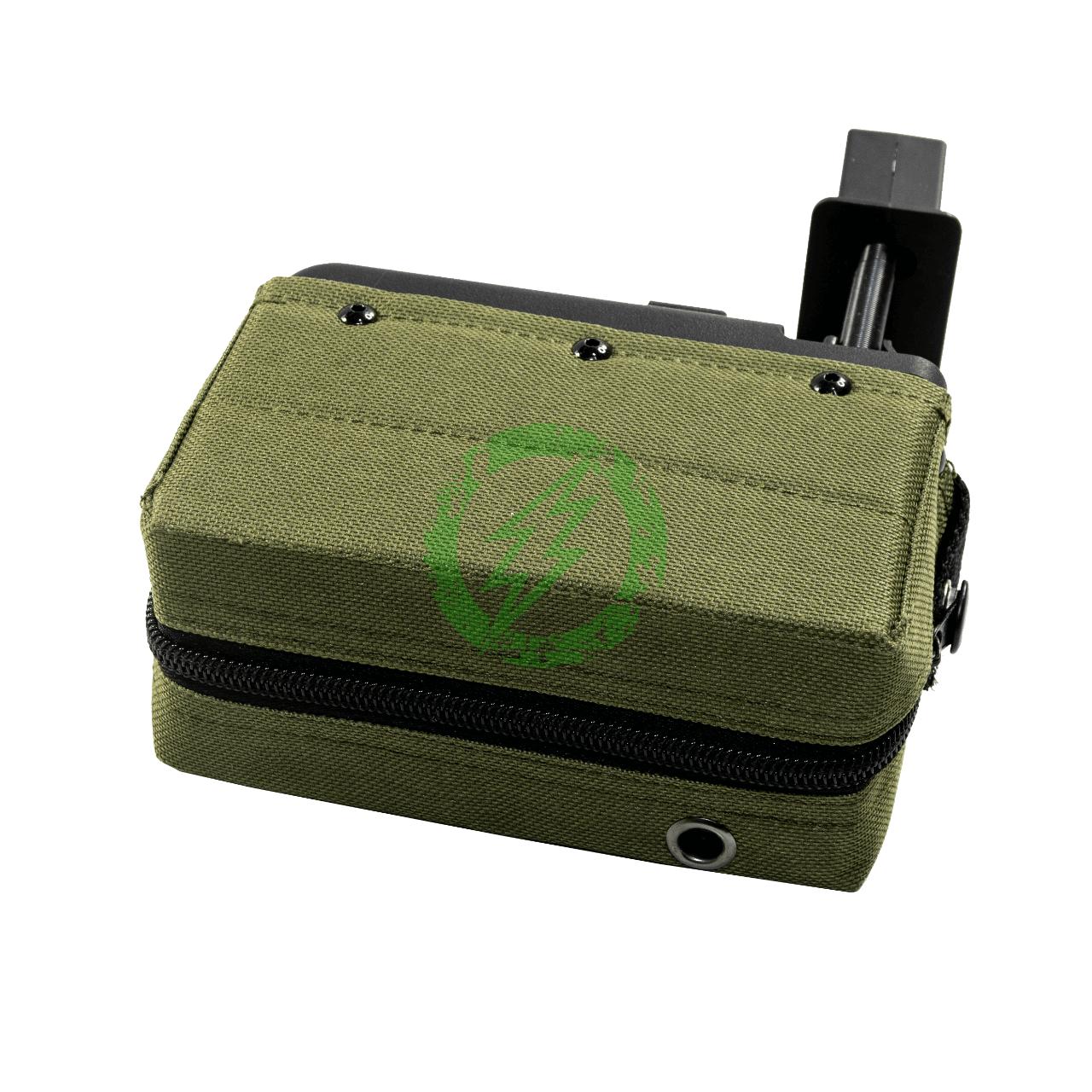 A&K 1500 Round Box Magazine for Airsoft M249 Series AEG | OD zipper
