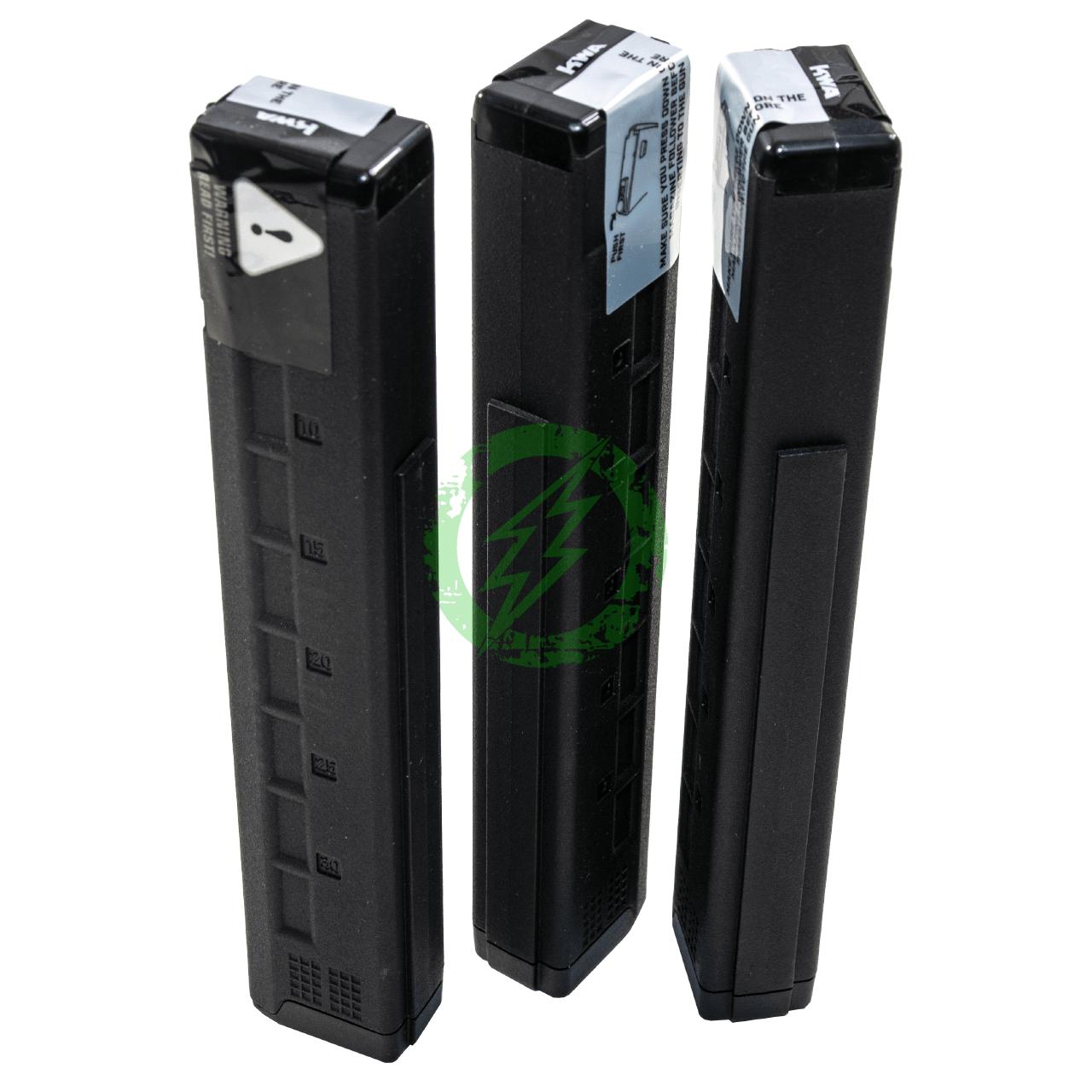 KWA QRF MOD 3 AEG MidCap Magazines 3 Pack | 80rd