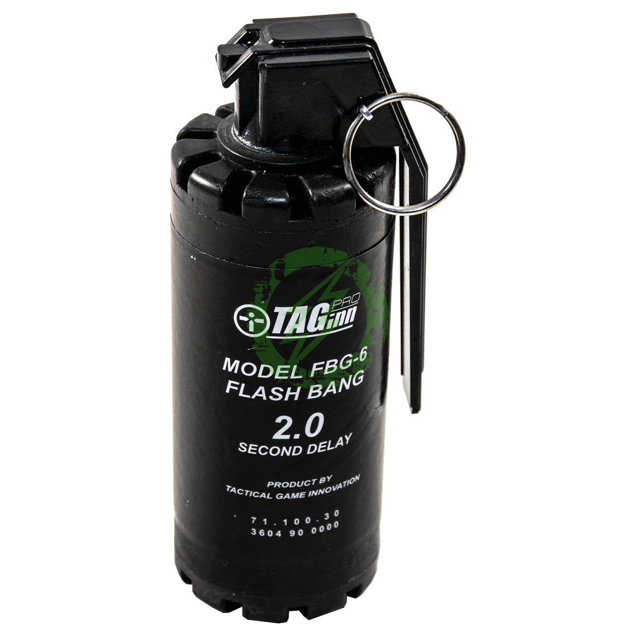 Pyro Shipped Easy TAGinn FBG-6 2 Second Sound Hand Grenade | Single