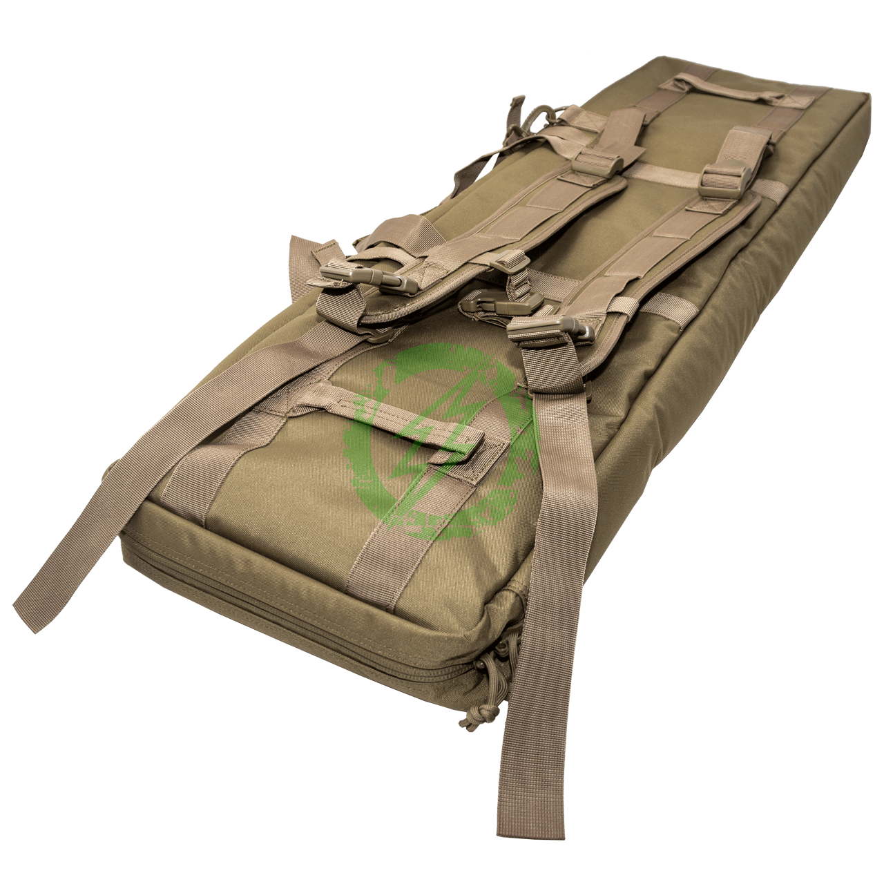 "Guawin Laser Cut 42"" Rifle Bag   Tan Back"
