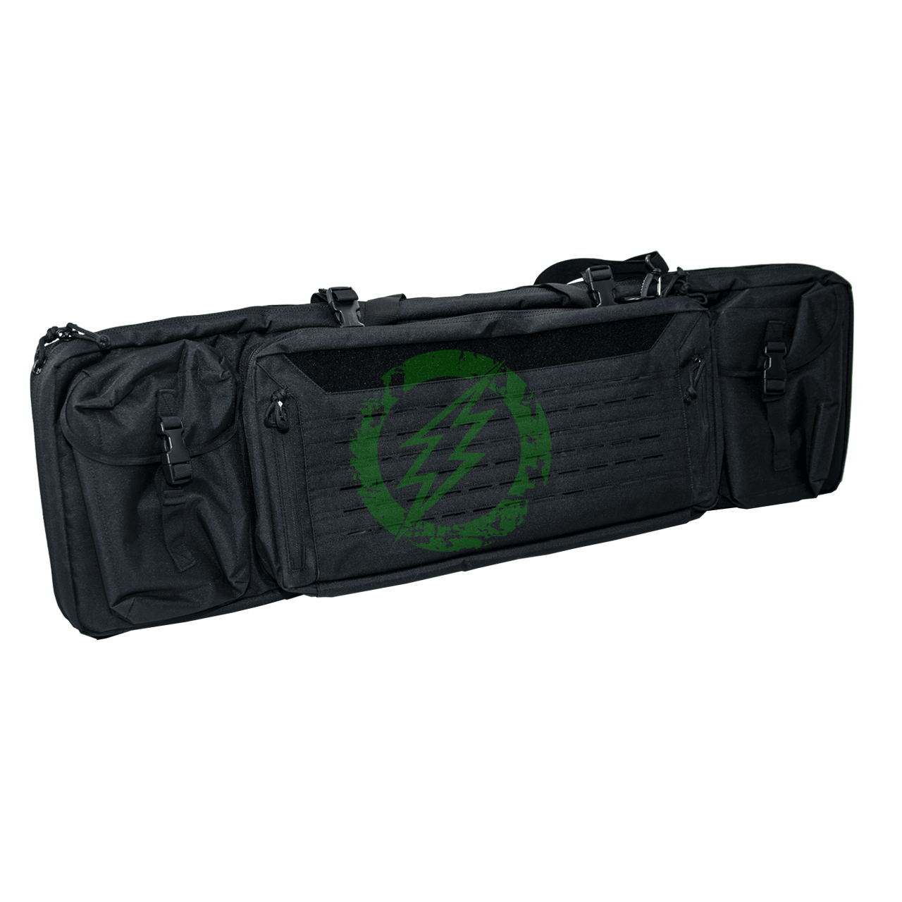 "Guawin Laser Cut 42"" Rifle Bag   Black"