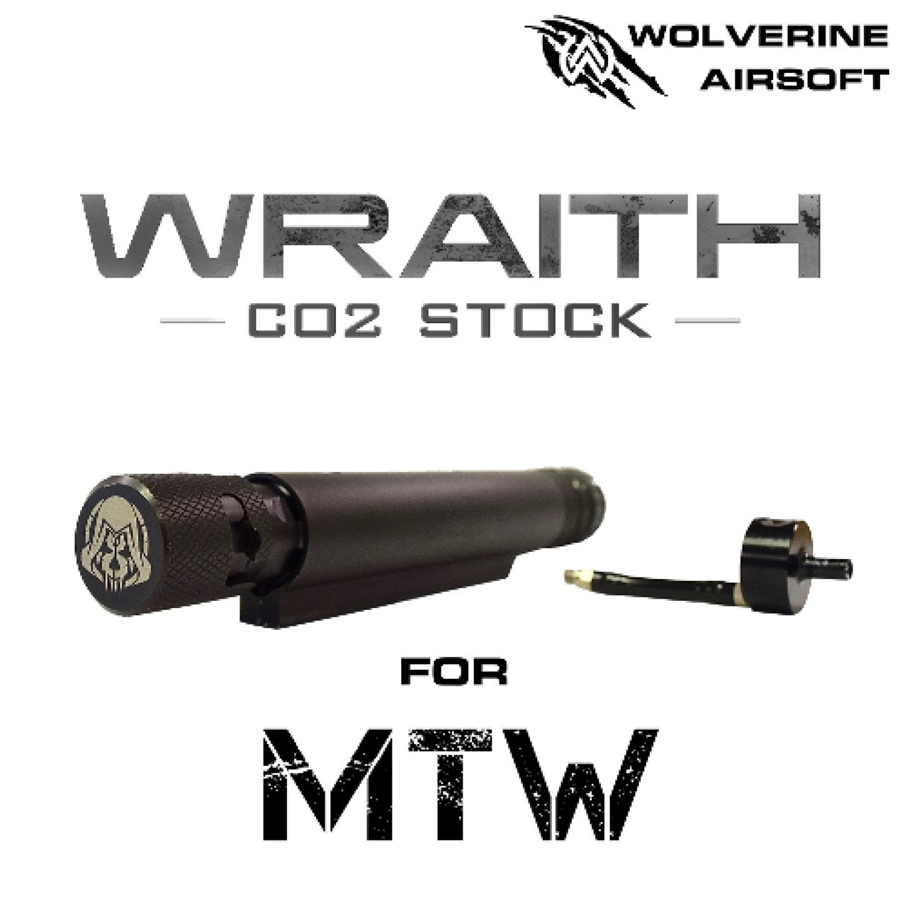 Wolverine Airsoft WRAITH CO2 Stock for MTW   33g CO2