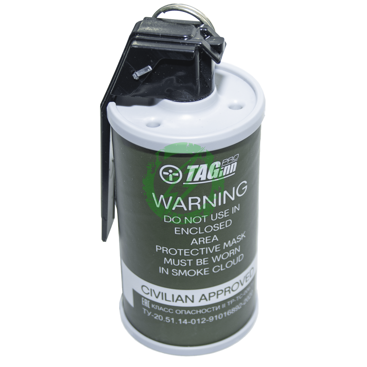 TAG-18 Airsoft Smoke Grenade | White | Single | Event/Store Pickup Back