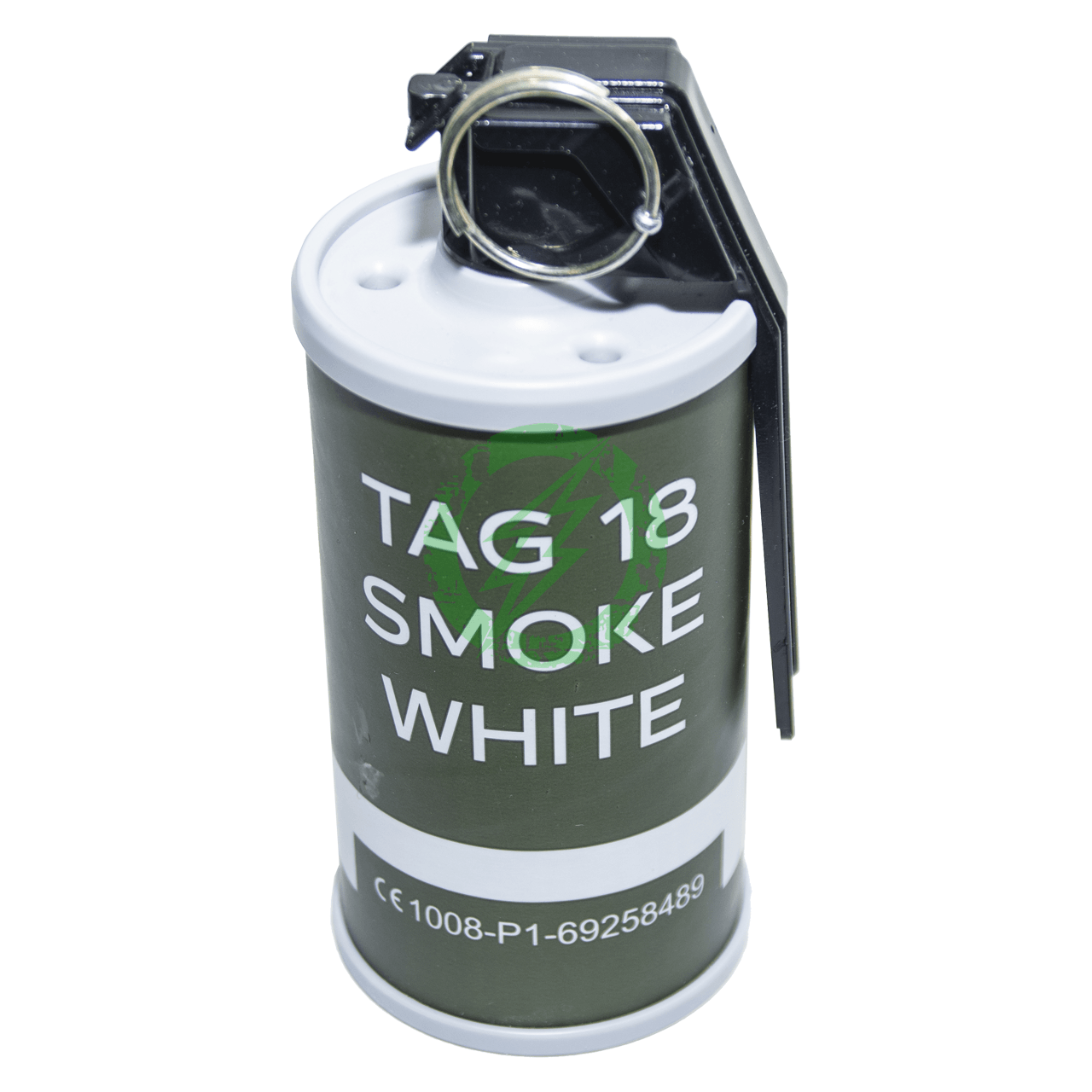 TAG-18 Airsoft Smoke Grenade | White | Single | Event/Store Pickup
