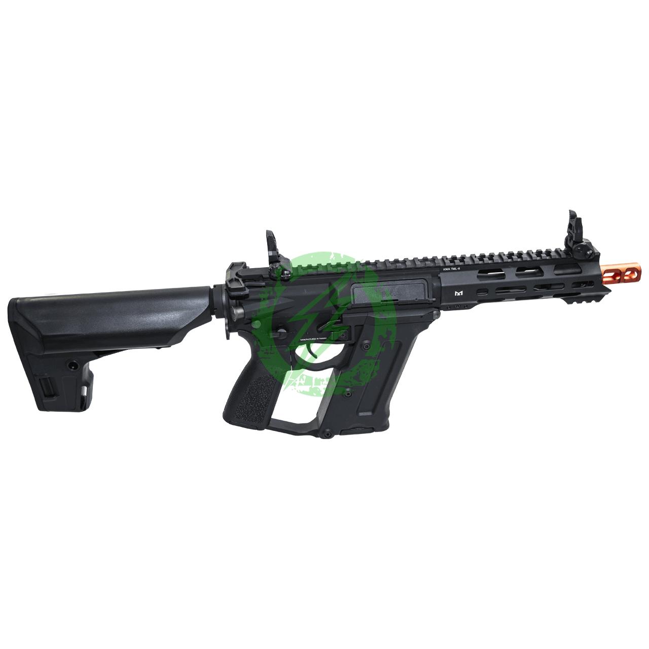 """KWA Ronin """"Tekken"""" TK.45C2 Electric Airsoft Gun Black Right"""